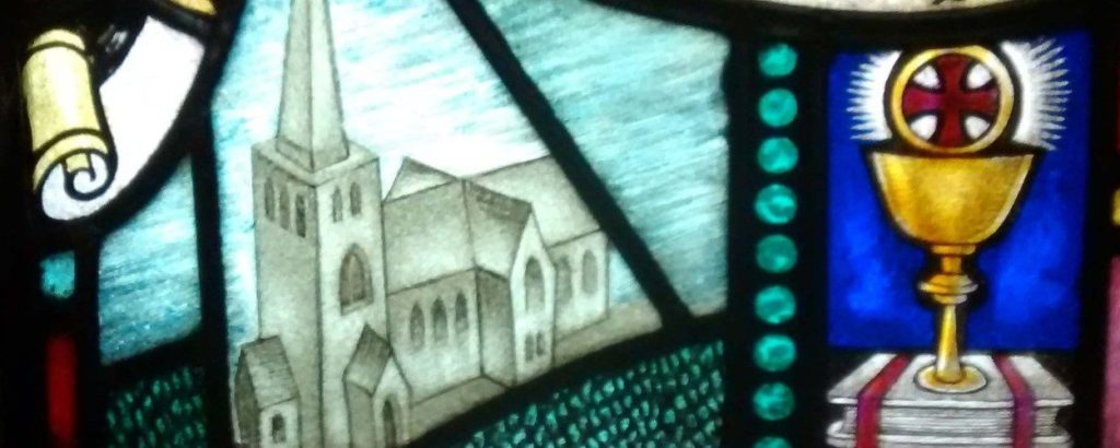 stain glass church