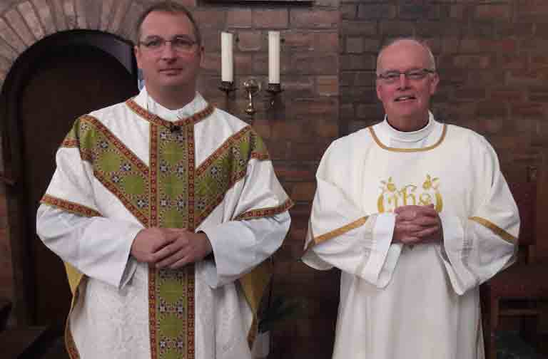 fr Kevin and Deacon John