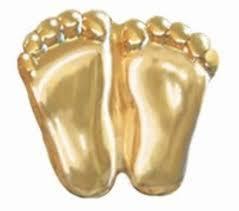 little gold feet